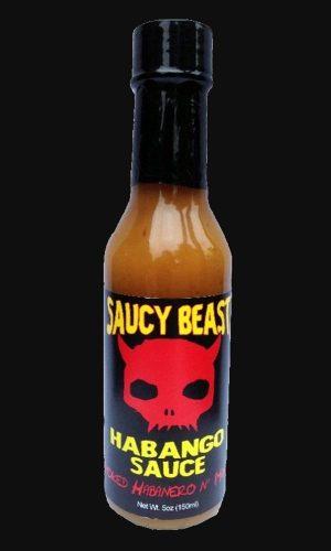 Saucy Beast Habango hot sauce