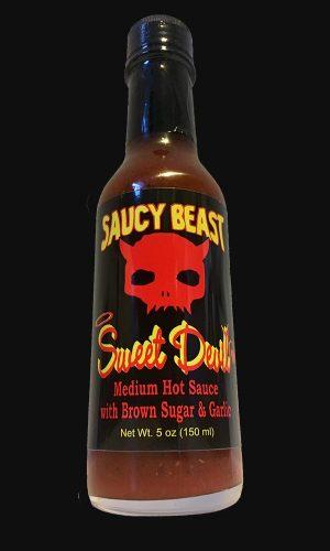 Saucy Beast Sweet Devil hot sauce